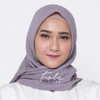 Jilbab Cornskin Square / Hijab Viscose Marble / Kerudung Segi Empat