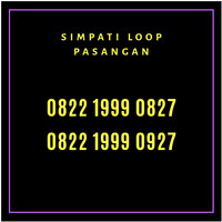Harga nomor simpati loop cantik couple kopel pasangan | Pembandingharga.com