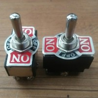 Saklar Toggel / Toggle Switch On-Off Besar 6 Pin