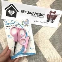 Gunting kuku bayi 2in1 / baby nail clipper / Gunting bayi set
