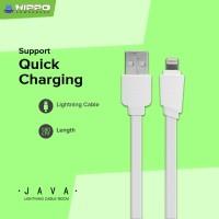 Hippo Java Lightning Kabel Data & Charger iPhone iPad 180cm