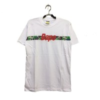 2615b92ac Baju Kaos Tshirt Skate A Bathing Ape Bape Camo Stripe Green White