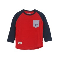 ORKIDS Baju Anak Prepare / Red Navy