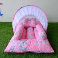 Kasur Bayi Lipat Kelambu - Tempat Tidur Bayi Motif KBLK280