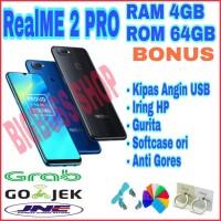 REALME 2 PRO RAM 4GB ROM 64GB NEW GARANSI 1TH OPPO INDONESIA