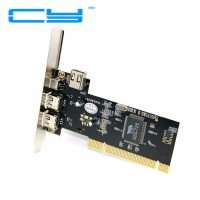 PCI Firewire 1394 port 400 IEEE 1394 pci express 1394A Dual 6pin & 4pi