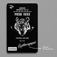 Simamaung Card - Desain Football Culture (E-Money CUSTOM Persib)