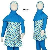 Baju Renang Anak Muslim Muslimah Ukuran 4 dan 5 Tahun Sulbi SBAP 194