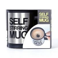 self strring mug / gelas pengaduk otomasi / gelas otomatis