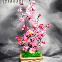Jual Bunga Sakura Artificial Tokopedia