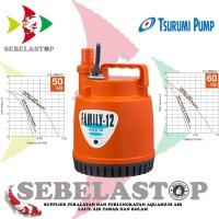 Pompa Air Celup Kolam Koi Pond Submersible Tsurumi Pump Family 12 Sea