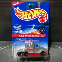 Hot Wheels Ford LTL Kenworth T600 Race Truck Series 1995 Silver
