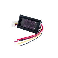 Dc0-100v 10A LED Dc Dual Display Digital Voltage Ammeter Head