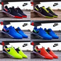 Sepatu Nike HyperVenom Futsal Full Black Pria Sporty Running