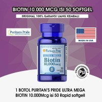 biotin 10.000mcg 50 tablet/sofgell