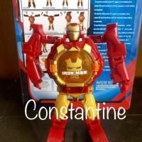 Supplier Jam Tangan Anak Robot Transformed Spiderman Iron Man Premium