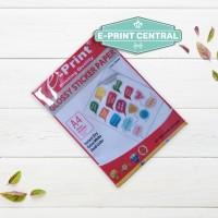 Kertas Stiker Glossy Sticker Paper Eprint A4 135gsm