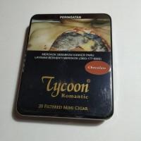 Tycoon Mini Cigarillos Chocolate (Tin-20) - Cerutu Kecil Aroma Cokelat