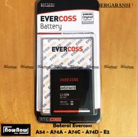 Baterai Evercoss A54 A74A A74C A74D E2 Original Double Power Batre HP