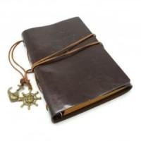Buku Catatan Notebook Note Book Binder Kulit Retro Pirate