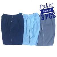 Paket Hemat 3 Pcs - Celana Pendek Santai Colorfull Polos