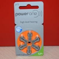 Baterai Alat Bantu Dengar, Hearing Aid Battery, Ukuran P13 Power One