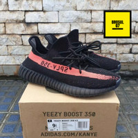 336d8192d7e41 ADIDAS YEEZY BOOST 350 V2 CORE BLACK RED 100% ORIGINAL BASF BOOST