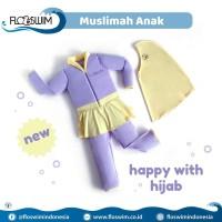 Baju Renang Anak Cuddle Me Floswim GoSwim Muslimah Size L 5-7 th
