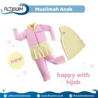 Baju Renang Anak XL 7-9th Muslimah Cuddleme Flo Swim Go Swim floswim