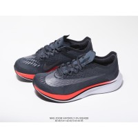 9cdf60395c7d Sepatu Nike VaporFly 4 Flyknit Black orange Line ori BNIB