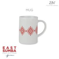 ZEN x Gayatri Wibisono Mug East Sumba Terracotta - 325 mL