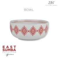 ZEN x Gayatri Wibisono Mangkok East Sumba Terracotta - diameter 15 cm