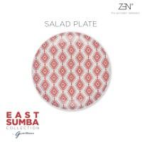 ZEN x Gayatri Wibisono Piring East Sumba Terracotta - 22 cm