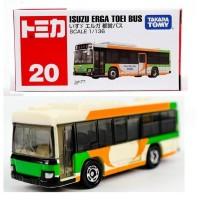 JS Isuzu ERGA TOEI Bus Eruga Tomica 20 Takara tomy Terbaru