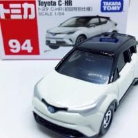 JS Toyota C-HR white no 94 Tomica Reguler Limited