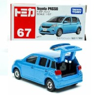 JS Toyota PASSO no 67 blue Tomica Takara tomy Limited