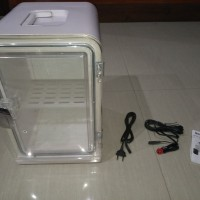 Kulkas mini portabel transparan merk Mobicool