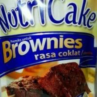 NUTRICAKE BROWNIES COKELAT 230gr