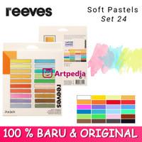 REEVES Soft Pastels 24 pcs