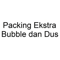 Packing Eksta Bubble dan Dus