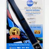 Clear TV Indoor Antenna - Antena Dalam Ruangan