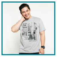 METALIZER x Samuel Zylgwyn Tumblr Tee T-Shirt Kaos Cowo 1028 Abu abu