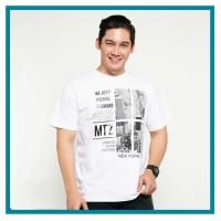 METALIZER x Samuel Zylgwyn Tumblr Tee T-Shirt Kaos Cowo 1028 Putih