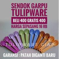 Sendok Makan Kalau Patah Ganti Baru / Spoon and Fork Twin Tulipware
