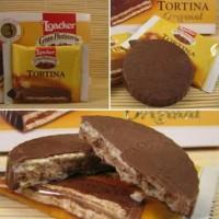 Loacker Tortina 21gram Wafer Coklat Ori Saudi