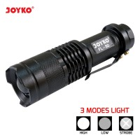 LED Flashlight / Senter LED Joyko FL-80