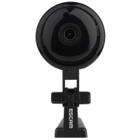 Escam Button Q6 2.0MP WiFi IP Camera ONVIF HD 1080P - Hitam