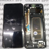LCD TOUCHSCREEN SAMSUNG GALAXY S8 PLUS COMPLETE ORIGINAL FRAME