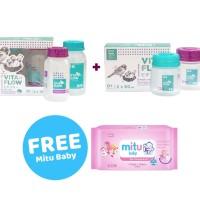 Paket Vitaflow Botol ASI Gratis Mitu Baby