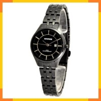 Jam Tangan Wanita Full Hitam Model Tipis 8544L